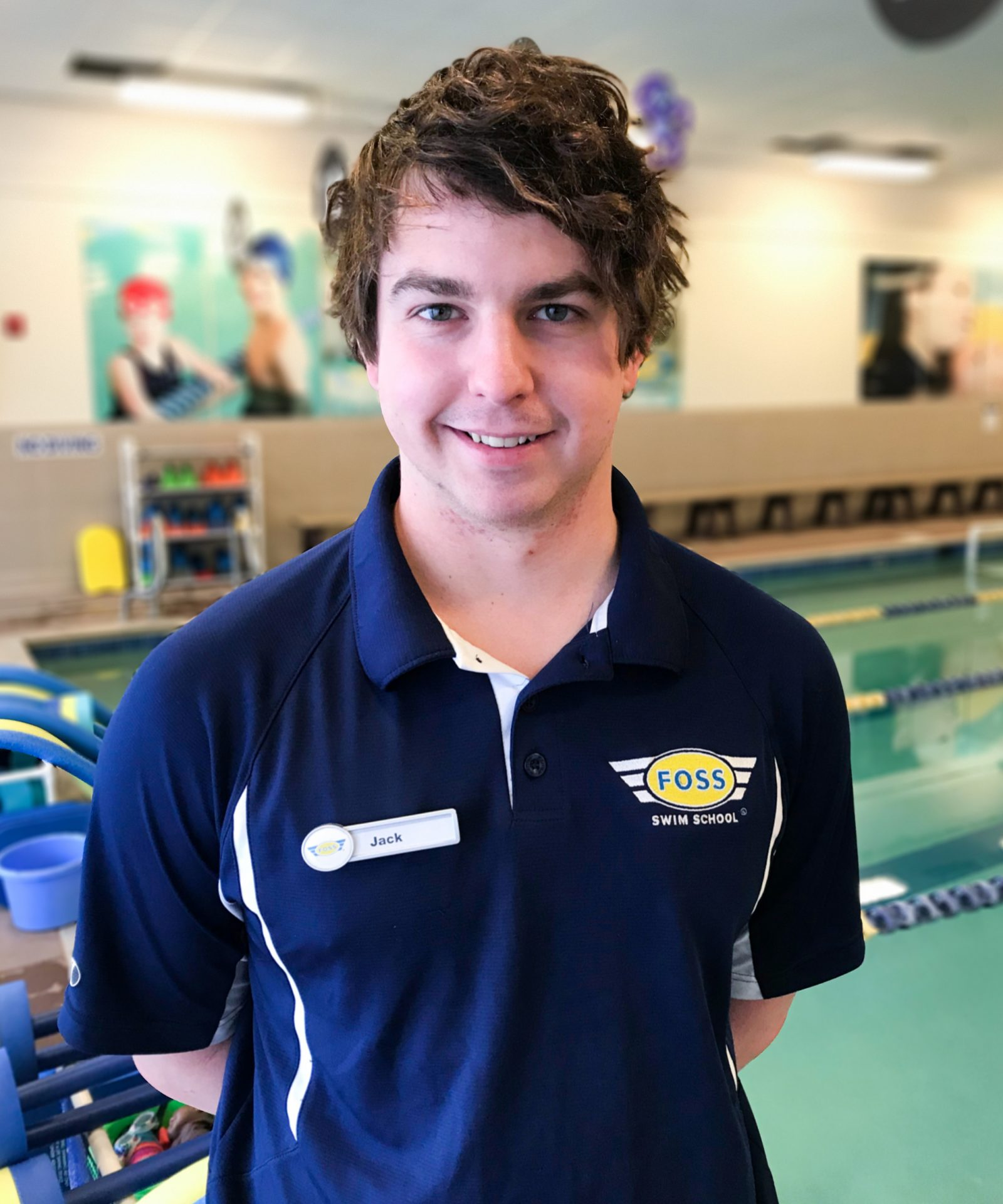 Sarajane - Shift Coordinator at FOSS Swim School
